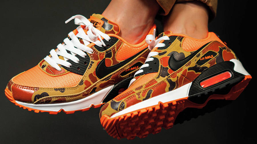 Nike Air Max 90 Orange Duck Camo | Where To Buy | CW4039-800 | The ...