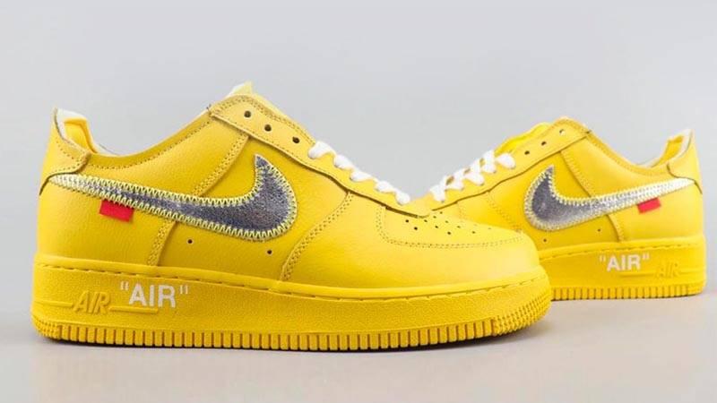 x Nike Air Force 1 University Gold
