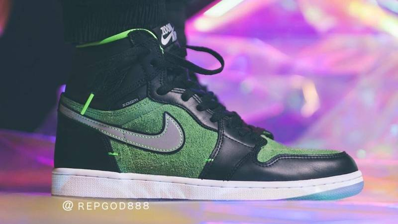 The Air Jordan 1 High Zoom Rage Green Is Dropping Next Month