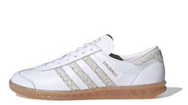 adidas hamburg trainers white