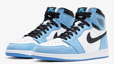 Jordan 1 High OG UNC Blue Front