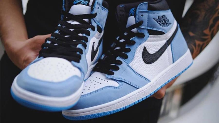 Jordan 1 High OG University Blue Detailed Look