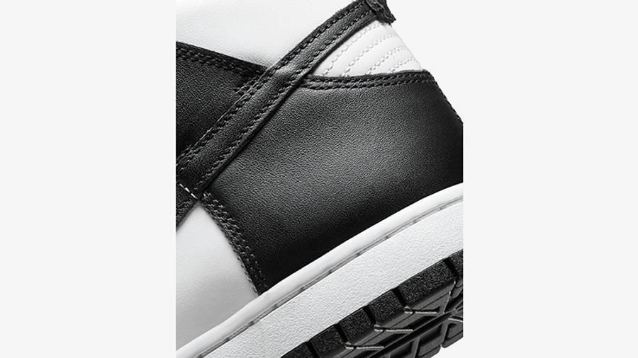 Nike Dunk High Retro White Black DD1399-105 Detail 2