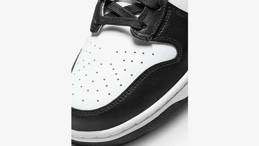 Nike Dunk High Retro White Black DD1399-105 Detail