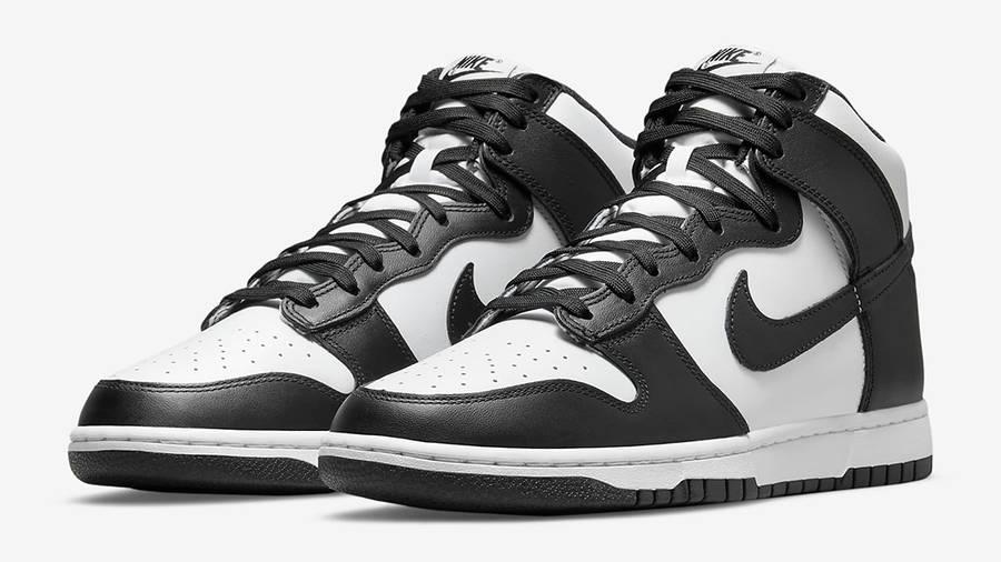 Nike Dunk High Retro White Black DD1399-105 Side