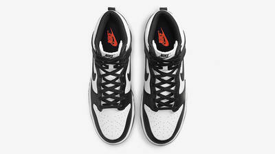 Nike Dunk High Retro White Black DD1399-105 Top