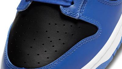 Nike Dunk Low Hyper Cobalt Closeup