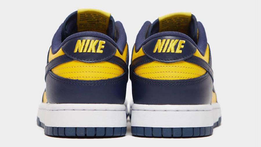 Nike Dunk Low Michigan Back