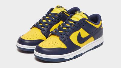 Nike Dunk Low Michigan First Look