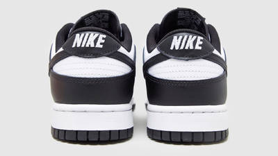 Nike Dunk Low Retro Black White Back