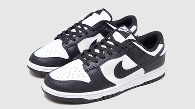 Nike Dunk Low Retro Black White Front