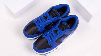 Nike Dunk Low Retro Hyper Cobalt Black First Look Top