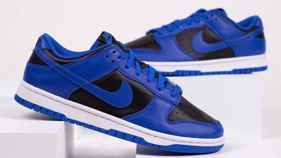 Nike Dunk Low Retro Hyper Cobalt Black First Look