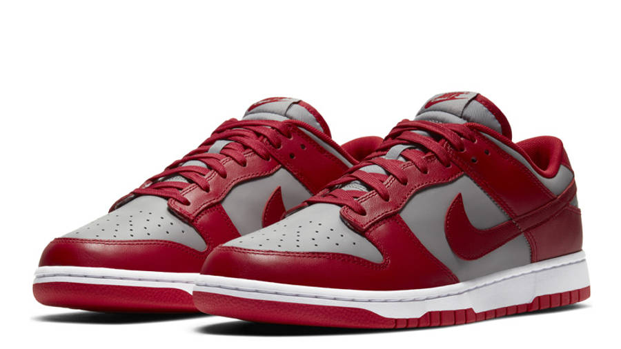 Nike Dunk Low UNLV University Red Front