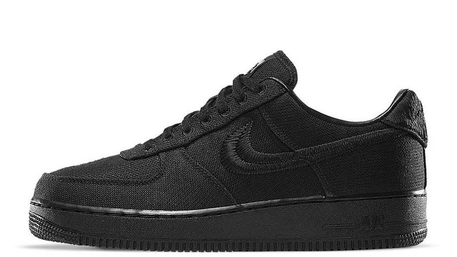 Stussy x Nike Air Force 1 Black
