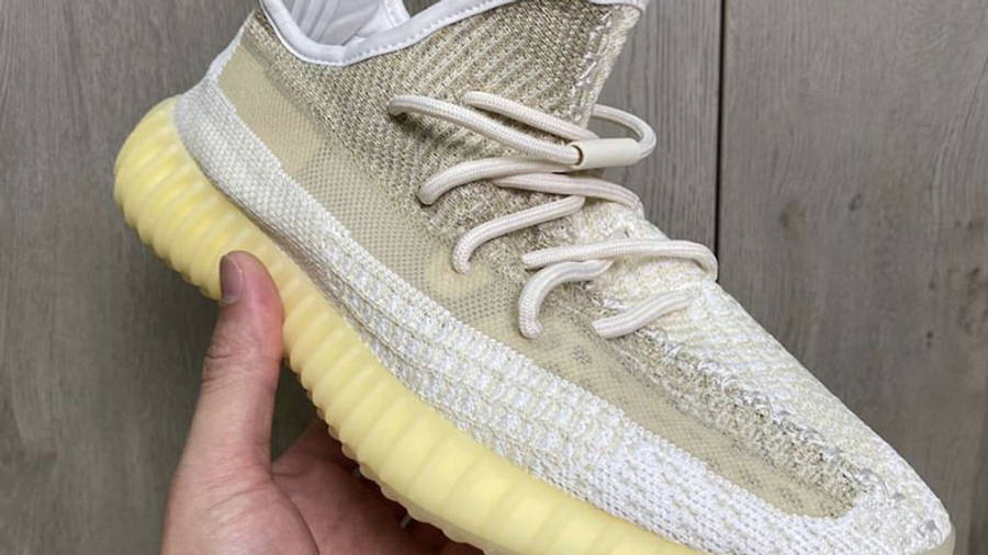 Yeezy Boost 350 V2 Natural In Hand