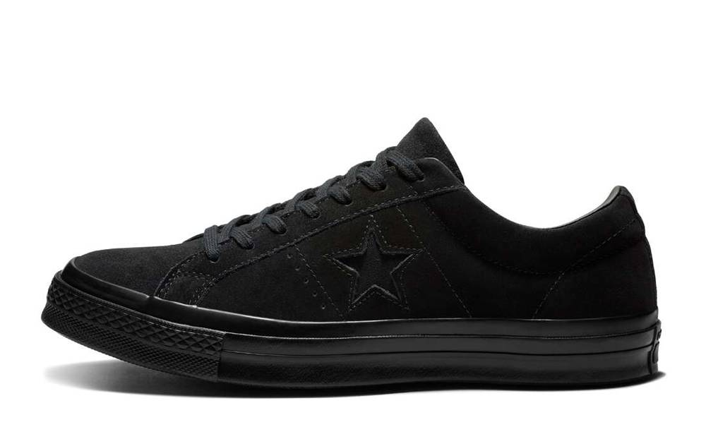 Converse One Star Suede Low Top Triple
