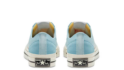 Converse Star Player Low Top OX Blue Peach 167768C back