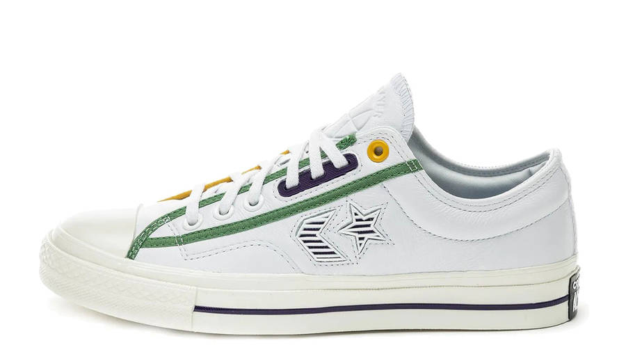 Converse Star Player Ox SP Logo Mash Up White