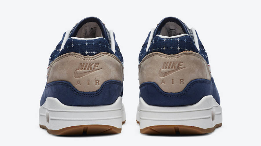 Denham x Nike Air Max 1 Blue Back
