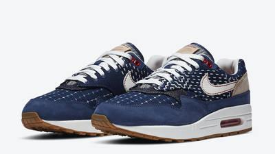 Denham x Nike Air Max 1 Blue Front