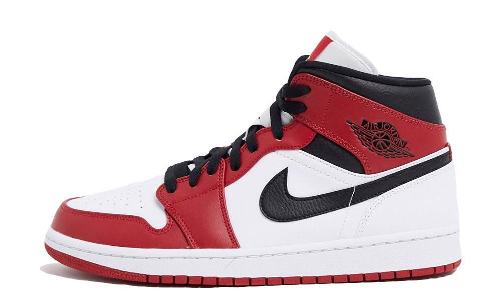Jordan 1 Mid Chicago 2020