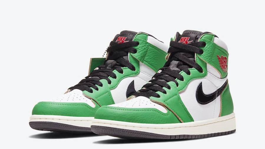 Jordan 1 Retro High OG Lucky Green Front