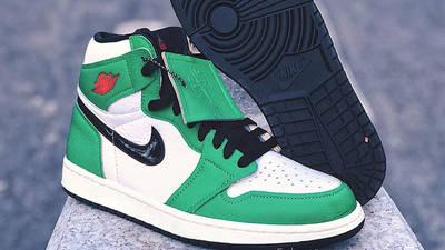 Jordan 1 Retro High OG Lucky Green Front Side