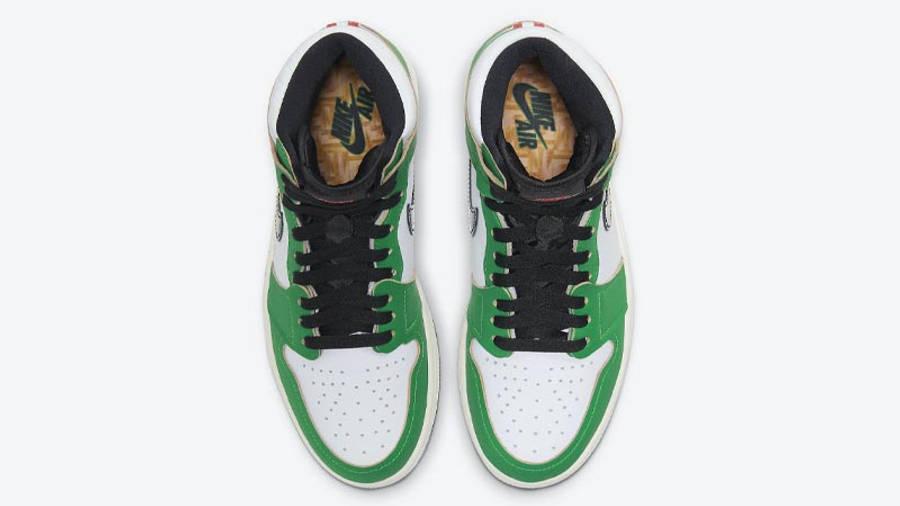 Jordan 1 Retro High OG Lucky Green Middle