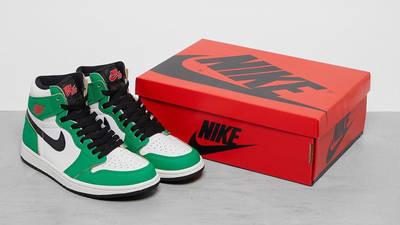 Jordan 1 Retro High OG Lucky Green Pack