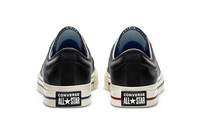 Logo Mash Up x Converse Star Player OX Black White 167140C back