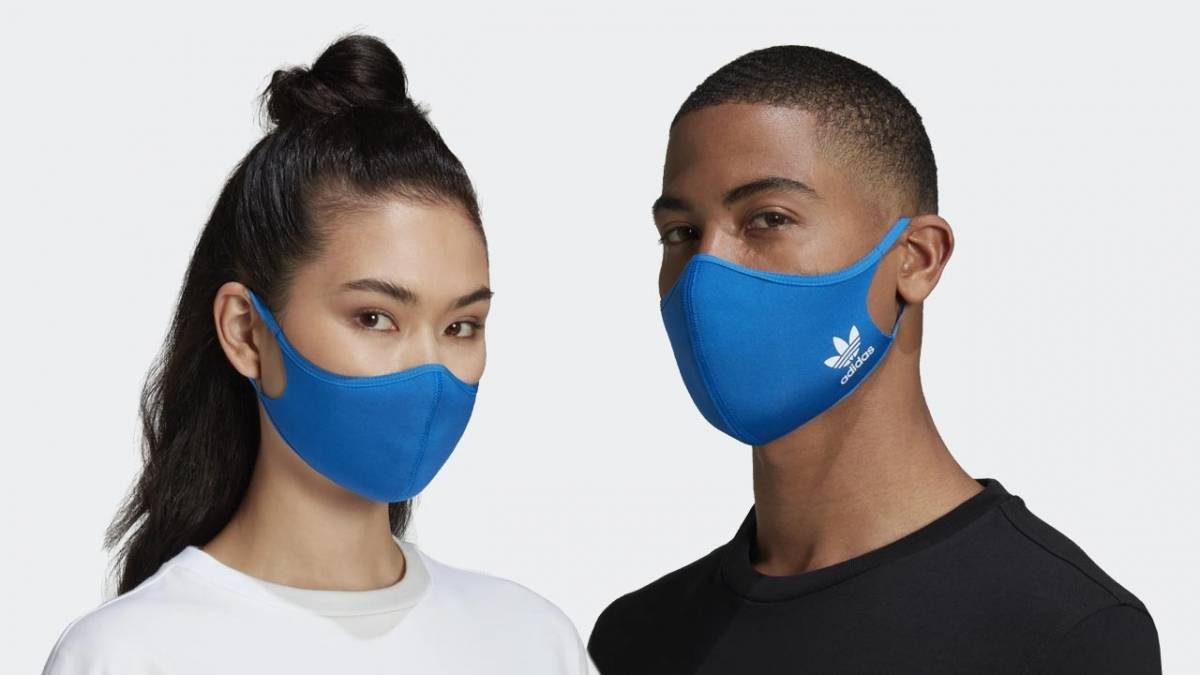 The Adidas Face Cover Blue Bird Is Available Now Already