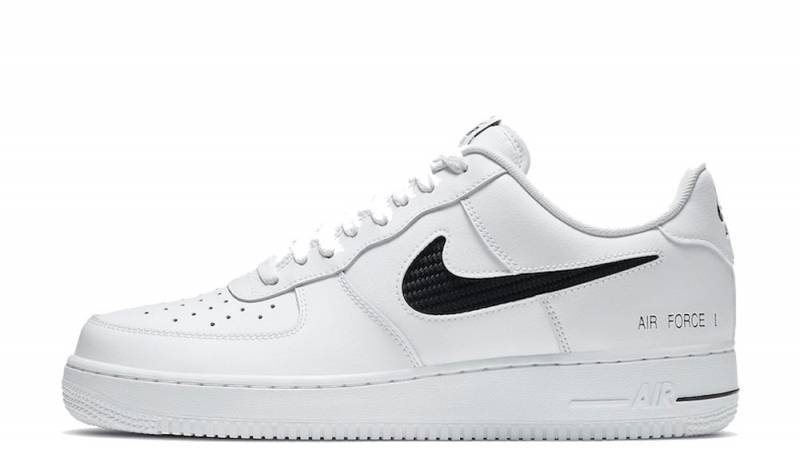 Nike Air Force 1 Low Cut Out Swoosh White Where To Buy Cz7377