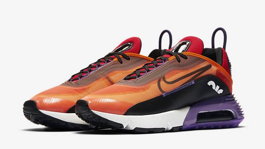 Nike Air Max 2090 Magma Orange Front