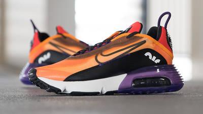 Nike Air Max 2090 Magma Orange Lifestyle Side