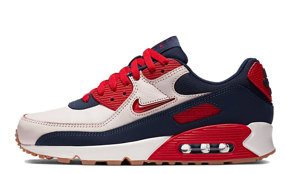 muerte Por ley Popular  Nike Air Max 90 Home and Away Red Navy - Where To Buy - CJ0611-101 | The  Sole Supplier