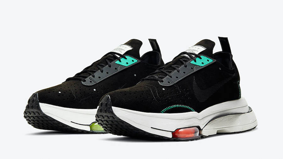 Nike Air Zoom Type Black Menta CJ2033-010 front
