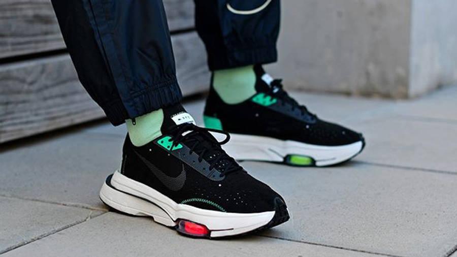 Nike Air Zoom Type Black Menta On Foot