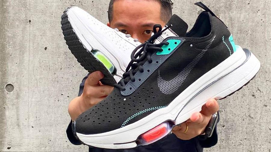 Nike Air Zoom Type Black Menta On Hand