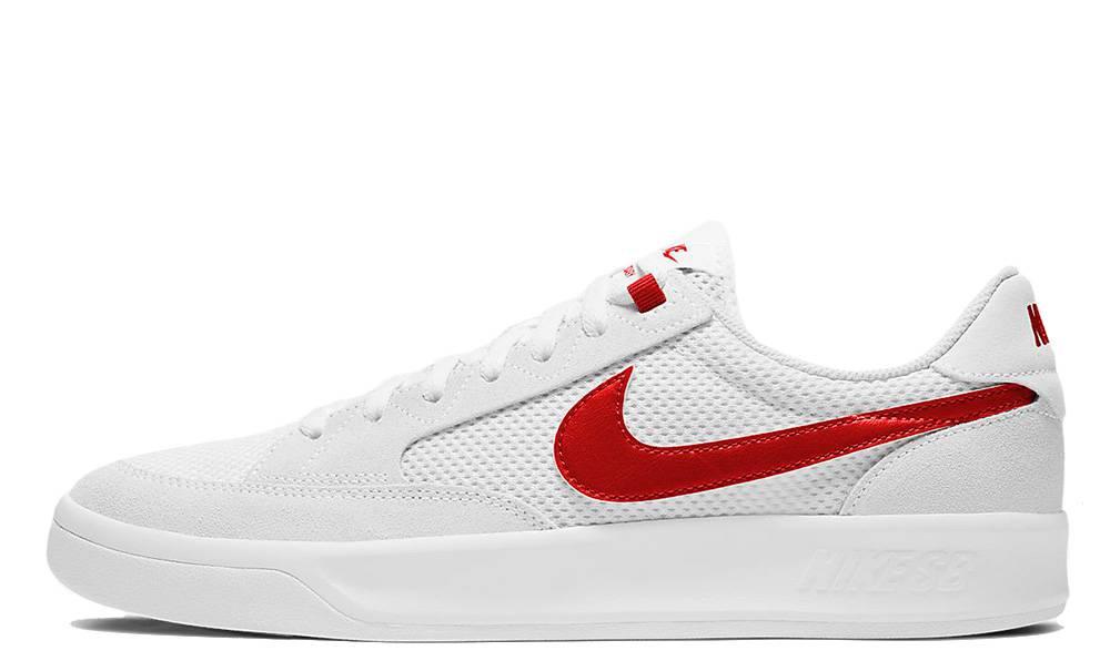 Nike SB Adversary White Red | Where To