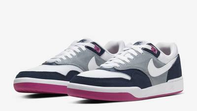 Nike SB GTS Return Premium Navy Pink Front