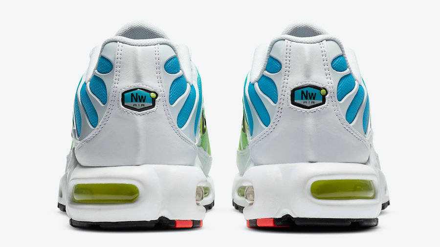 Nike TN Air Max Plus Worldwide White Blue Fury Volt   Where To Buy ...