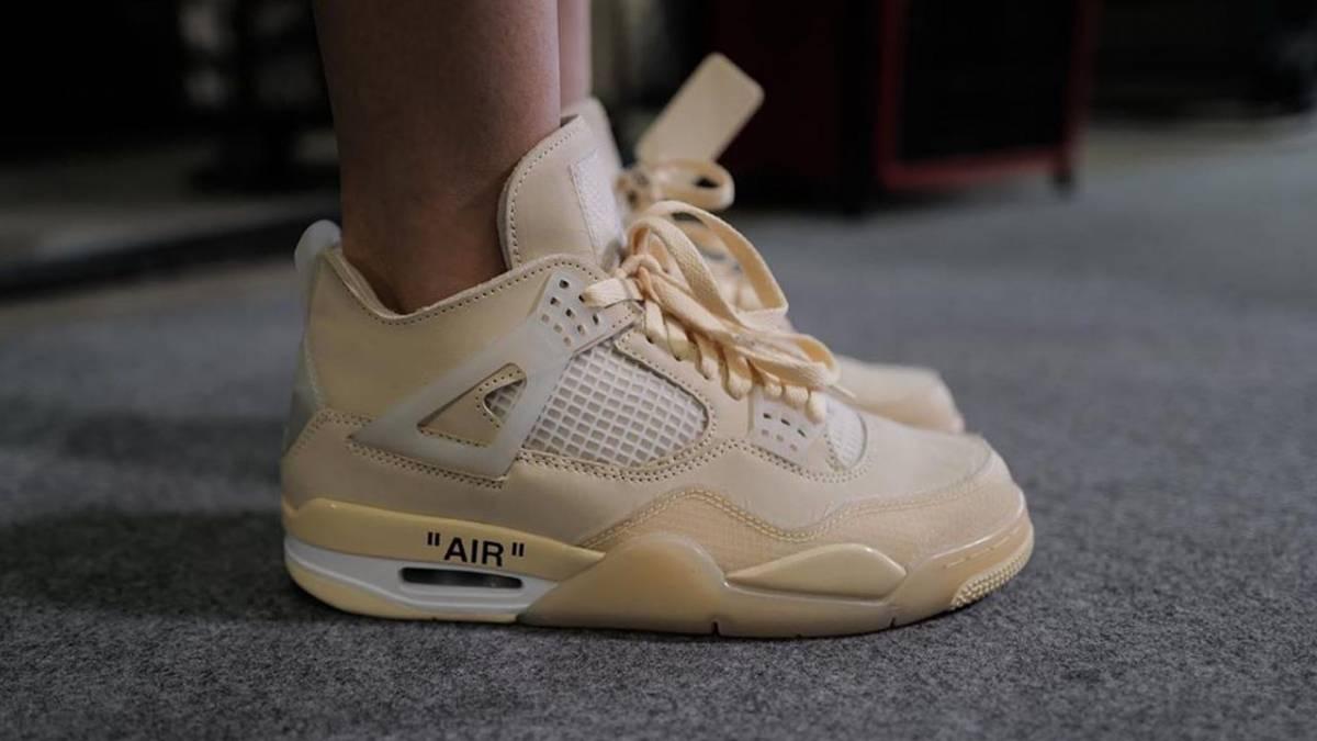 The Off-White x Air Jordan 4