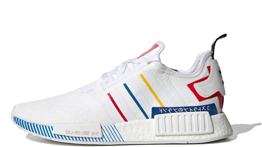 Entrelazamiento obesidad Pack para poner  adidas NMD R1 Olympic Pack White | Where To Buy | FY1432 | The Sole Supplier