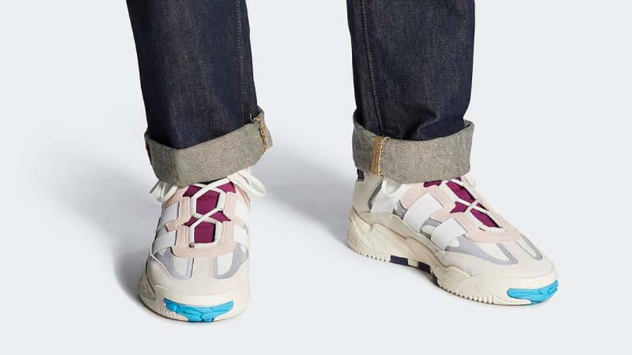 adidas Niteball Pink Tint On Foot