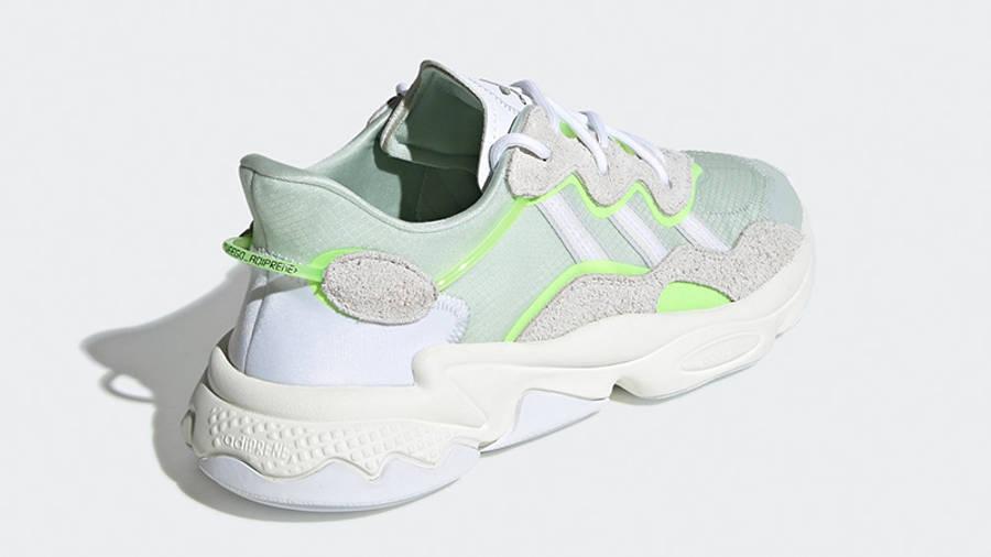 adidas Ozweego White Green EF4288 back