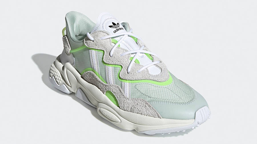 adidas Ozweego White Green EF4288 front