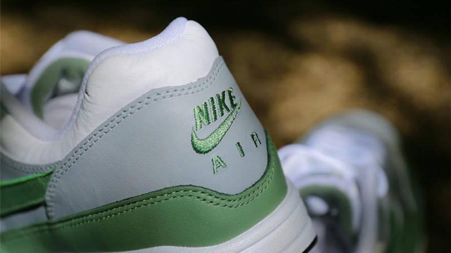 Nike Air Max 1 Premium White Spiral Sage Closeup