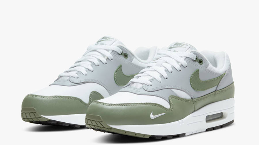Nike Air Max 1 Premium White Spiral Sage Front