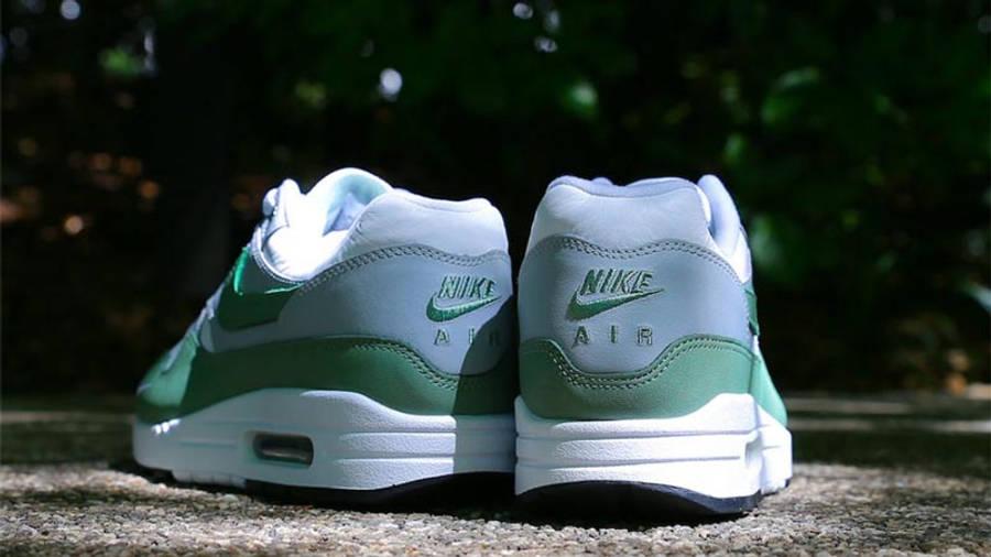 Nike Air Max 1 Premium White Spiral Sage Lifestyle Back